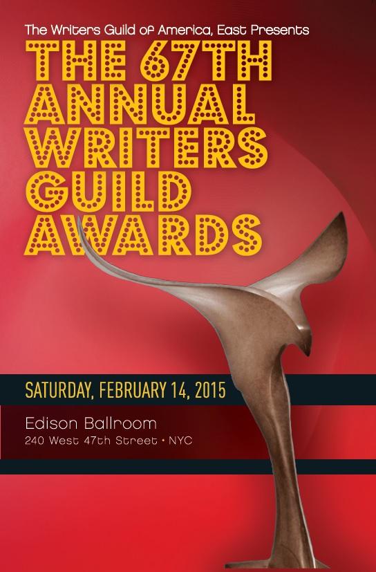 2015 Writers Guild Award Program