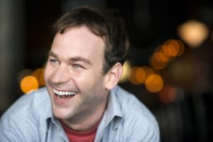 June 29, 2012 - Mike Birbiglia at Union Hall, Park Slope, BK Credit: Evan Sung