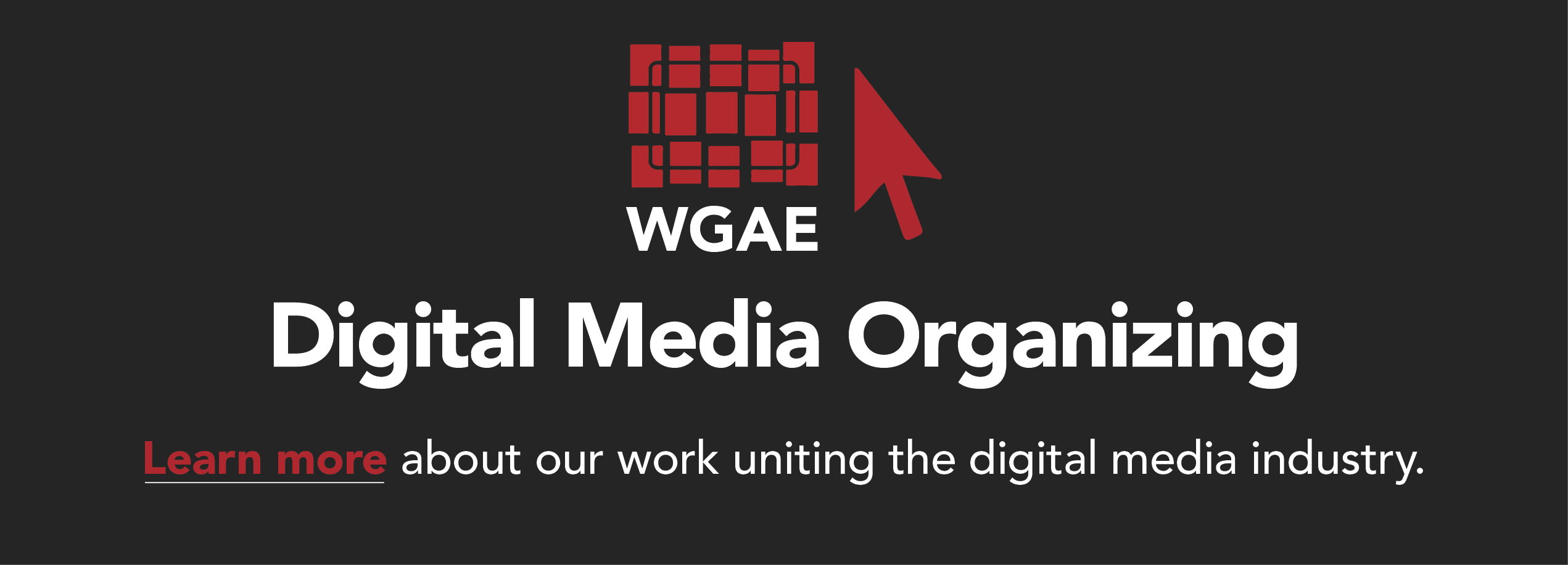 WGA East: Digital Media Organizing