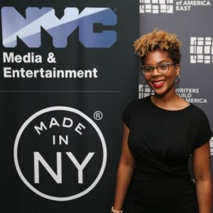 Yasmine Cadet, Made in NY Writers Room Fellow, 2019