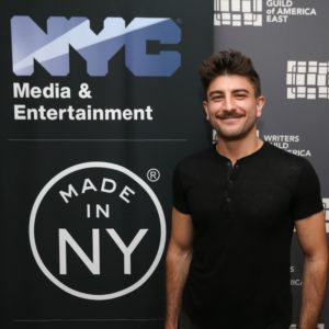 Joey Capuana, Made in NY Writers Room Fellow, 2019