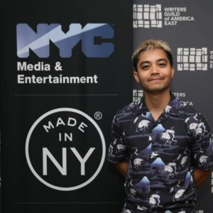 Jordan Mendoza, Made in NY Writers Room Fellow, 2019