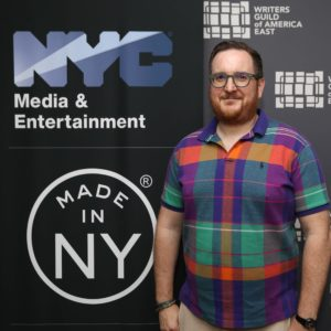 Vinny Lopez, Made in NY Writers Room Fellow, 2019