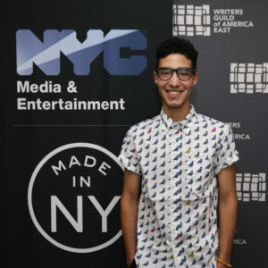 Michael Rodriguez, Made in NY Writers Room Fellow, 2019