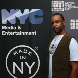 Jerome A. Parker, Made in NY Writers Room Fellow, 2019