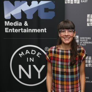 Catherine Loerke, Made in NY Writers Room Fellow, 2019