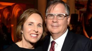 Photograph of Robert & Michelle King