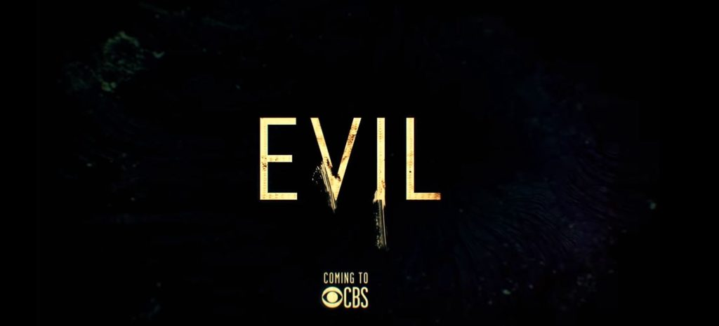 Poster for the CBS show EVIL