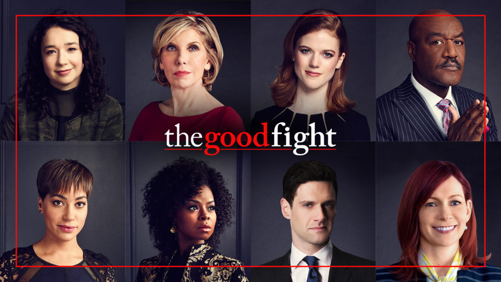 Poster advertising The Good Fight